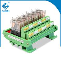 6 Road Relay Module JR-6L2 , Optocoupler Relay Module 87×63 Mm Dimensions