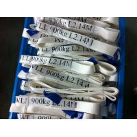 Safety Factor 5 To 1 Endless Webbing Sling 900kg White Color OEM Available Manufactures