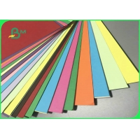 Virgin Wood Pulp A3 A4 70gsm - 250gsm Color Woodfree Paper For Postcard Manufactures
