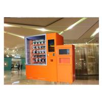China 24 Hours Smart Hot Food Hamburger Vending Machine With Microwave Heating Function on sale