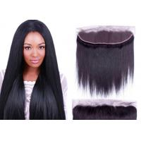 100% Premium Virgin Full Lace Frontal Closure Natural Color Thick From Top To Bottom Manufactures