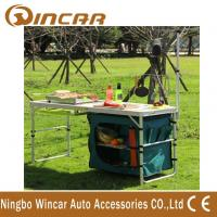Multi - Function Aluminum Folding Table With Cloth Cabinet Light Bar Manufactures