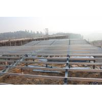 China Safety Custom Prefabricated Steel Structure Single Span High Strength Portal Framing on sale
