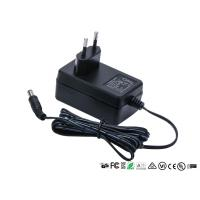 50hz - 60hz Universal Power Adapter 12V 2A 2000mA Two Round Pin EU Plug 24w Ac Dc Manufactures