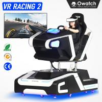 2nd Generation 9D VR Racing Car Driving Simulator Virtual Reality Race Games Machine Manufactures