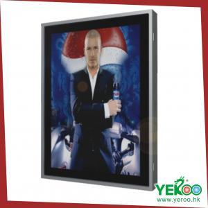 China Single sided LED backlit aluminium light box on sale