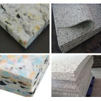 China Fire-proof cheap rebonded foam mattress Manufactures