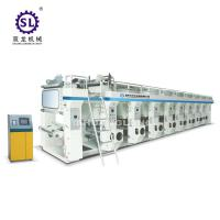 8 Color Rotogravure Printing Machine Computer Control Middle Speed Manufactures