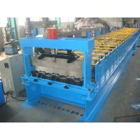 22kw Steel Deck Roll Forming Machine galvanized board For Material Handling Manufactures