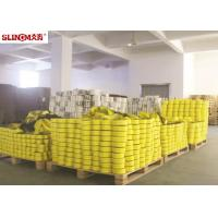 ASMEB30.9 Yellow 2 Inch Flat Webbing Sling High Tenacity For Heavy Goods Manufactures