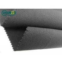 Medium Weight 76gsm Twill Weave Interlining Fabric with PA double dot Manufactures