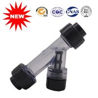 Buy cheap PVC Pipe Fittings Water Supply Fittings UPVC Clean Y Strainers from wholesalers