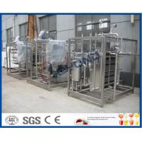 China Full Auto / Semi Auto Milk Pasteurization Equipment For Aseptic Filling Production on sale