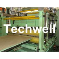 2 - 10mm * 2200mm Steel Sheet Cut To Lenght Machine Line With Normal Speed Manufactures