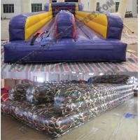 China Camouflage Bungee run,,inflatable active sport game KSP063 on sale