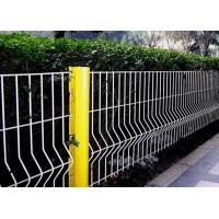 Security Triangle Bending  Fence / Folded Mesh Fencing For Outdoor / Road Fence Manufactures