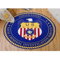 Quality 100% Polyester 3d Printed Indoor Area Rugs With Non-slip Backing Customized for sale