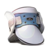 Therapeutic Cervical Traction Collar White / Blue Electric Auto Pump Inflate Type Manufactures