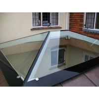 Heat Soaked Window Tempered Glass With Black Border Withstand 250℃ Manufactures