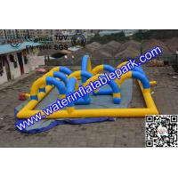 Popular Inflatable Sport Games , Inflatable  Race Track  for Kids Manufactures