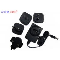 18V 500mA Interchangeable Power Supply PC ABS Material Short Circuit Protection Manufactures