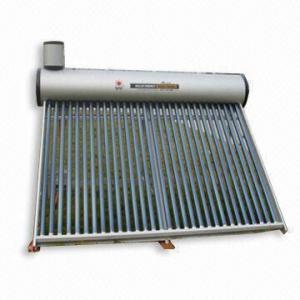 non pressure copper coil tank solar water heater Manufactures