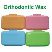 China Colored Dental Orthodontic Wax Rubber For Relieves Irritation on sale