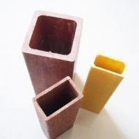 FRP/GRP Rectangular Tube with 55 to 70% Fiber Content, Available in Various Sizes Manufactures