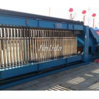 Double Twist Gabion Machine 60mm x 80mm With Automatic Oil System , SGS / TUV Manufactures