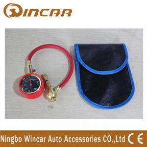 High Precision Car portable digital Tire pressure Gauge Auto Metal Material Manufactures