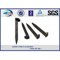 Railroad Track Spikes / Dog Spike For Timber Sleeper GOST5812 Standard Manufactures
