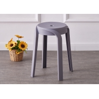 China Small Size Plastic Dining Chairs Light Weight Modern Color Optional on sale