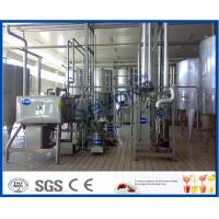 Cheap Milk And Milk Products Processing Dairy Plant Machinery , Milk Dairy Equipments for sale