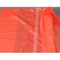 Dissolving Water Soluble Laundry Bags , Disposable Garments Plastic Laundry Bags Manufactures