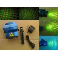 Red / Green 50 - 60Hz DC12V 100mw Twinkling Star Laser Effects Mini Laser Stage Light Manufactures