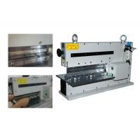 Aluminum Pneumatic Pcb Depaneling Machine, Pcb Punching Machine With Round Knives,CWVC-2L Manufactures