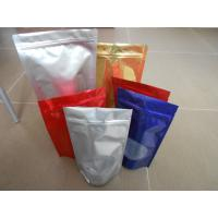 China Custom Snack Bag Packaging , BOPP / LDPE Stand up Ziplock Mylar Food Bags on sale