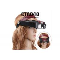 Headband Magnifier Lamp Magnifying Glasses Loupe 10 With 2 LED Light Visor Manufactures