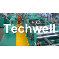 YX-86-194-312 W Beam Guardrail Roll Forming Machine For 2 - 4mm Material Thickness Manufactures