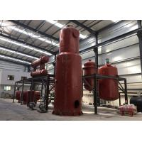 High Efficiency Vacuum Distillation Equipment Compact Structure With Copper Condensers
