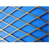 Standard diamond steel plate mesh welded wire panels for aerospace , petroleum Manufactures