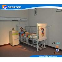 Five Function Adjustable Electric Hospital Baby Cart With Telescopic Aluminum Alloy Side Rails Manufactures