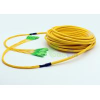 5M LSZH Trunk Cable SC - SC Singlemode Breakout Fiber optic Patch cables 8F LSZH Yellow
