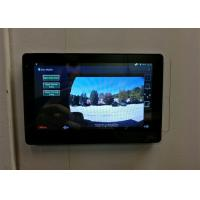 Indoor Terminal 7 Inch Capacitive Touch Panel , Touch Screen Intercom System Manufactures