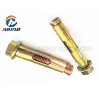 China Medium Duty Expansion Anchor Bolt with Flange Round Hook Head Style on sale