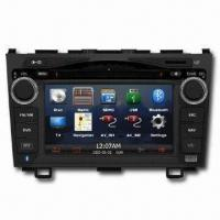 GPS Car Navigation System with In-dash DVD Player, Rotary Volume Control and Front USB Manufactures