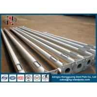 4m - 15m Anti-corrosion Galvanized Steel Tubular Pole for Street Lighting