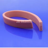 80A Anti UV Extruded Silicone Sponge Rubber Strips Manufactures