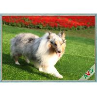 China UV Resistant Dog Pet Artificial Turf / Synthetic Grass Eco Friendly Installation on sale