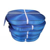 Flat Patterned Polyester Webbing Non - Conductive Corrosion Resistant Manufactures